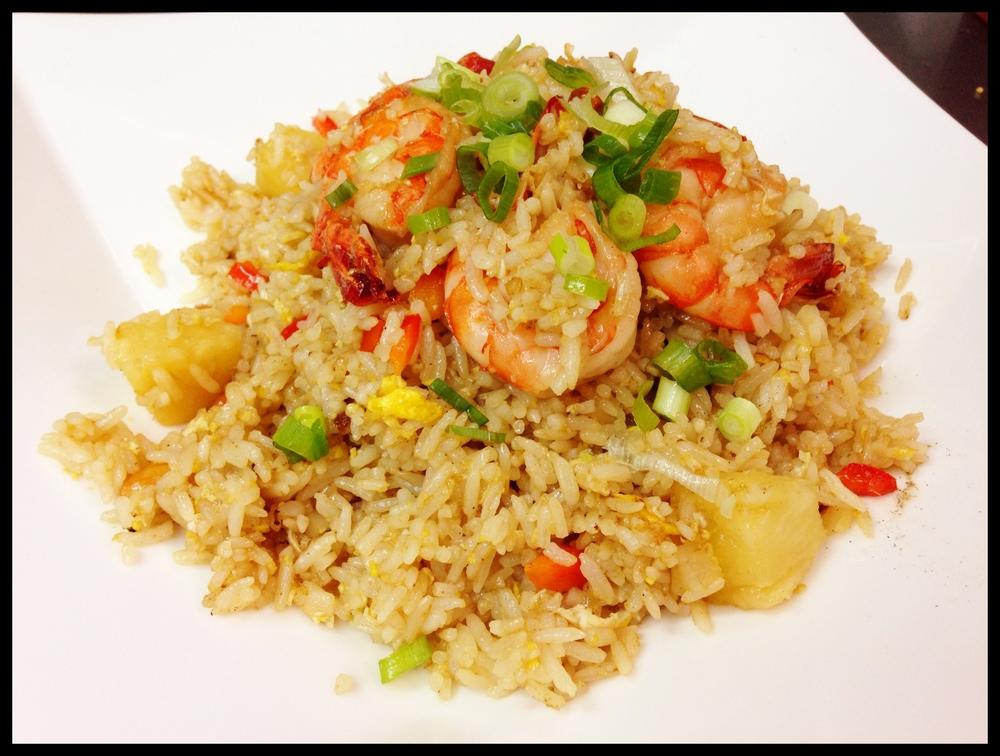 Pineapple Fried Rice Shrimp