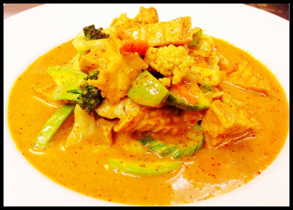 Panang Curry Tofu