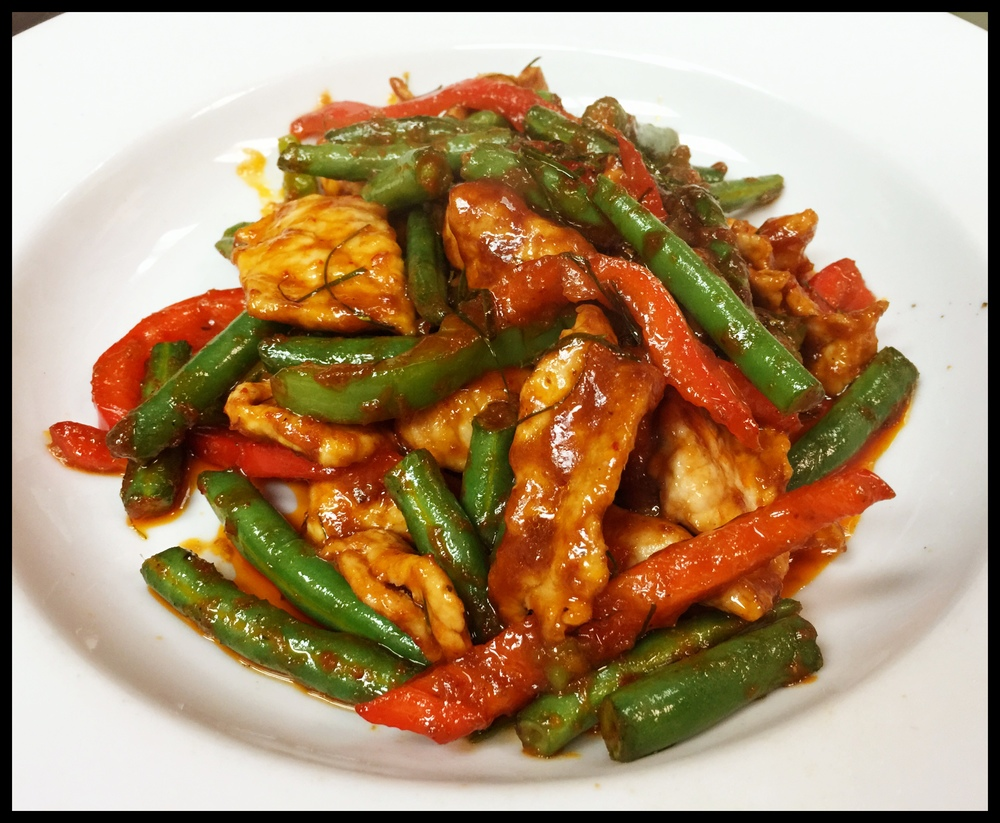 Prik Khing Chicken