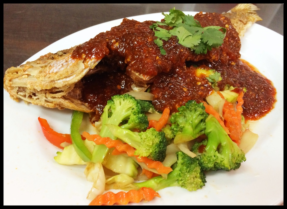 3 Flavor Whole Red Snapper