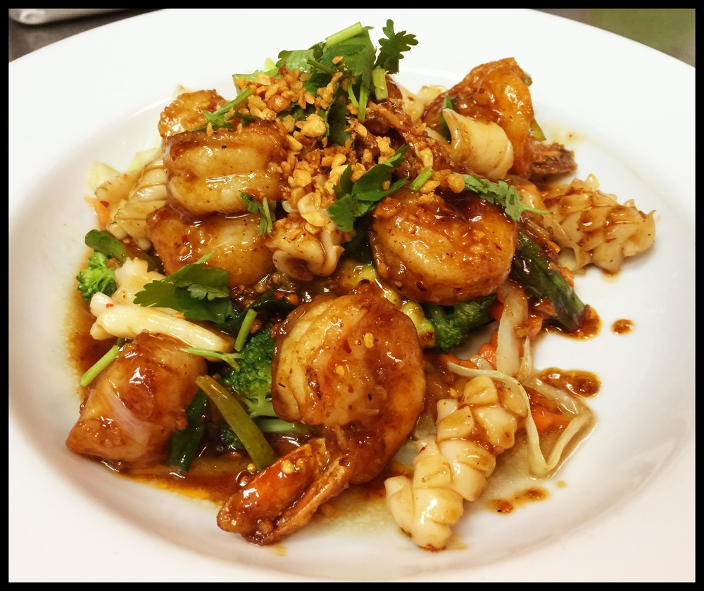 Garlic Seafood