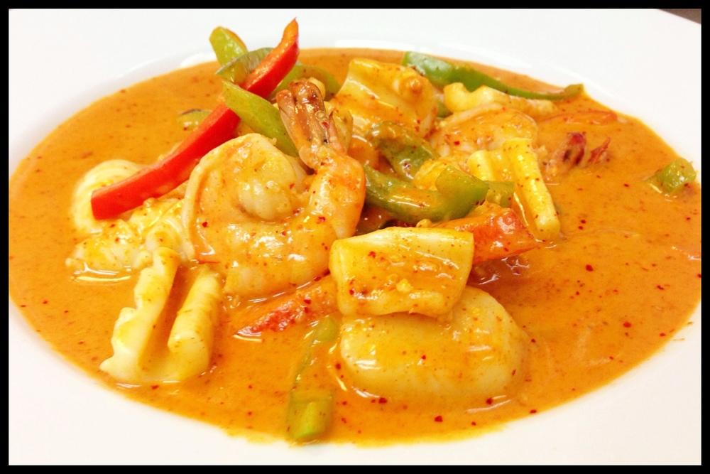 Panang Curry Seafood