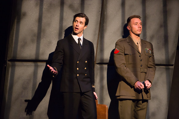 Photo featuring Thomas Gorrebeck (Kaffee) and Bradley Satterwhite (Dawson). Credit: Mark Kitoaka and Tracy Martin.