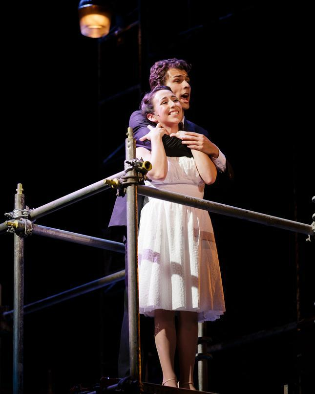 Featuring Nikita Burshteyn (Tony) and Samantha Cardenas (Maria). Credit: Mark Kitoaka and Tracy Martin