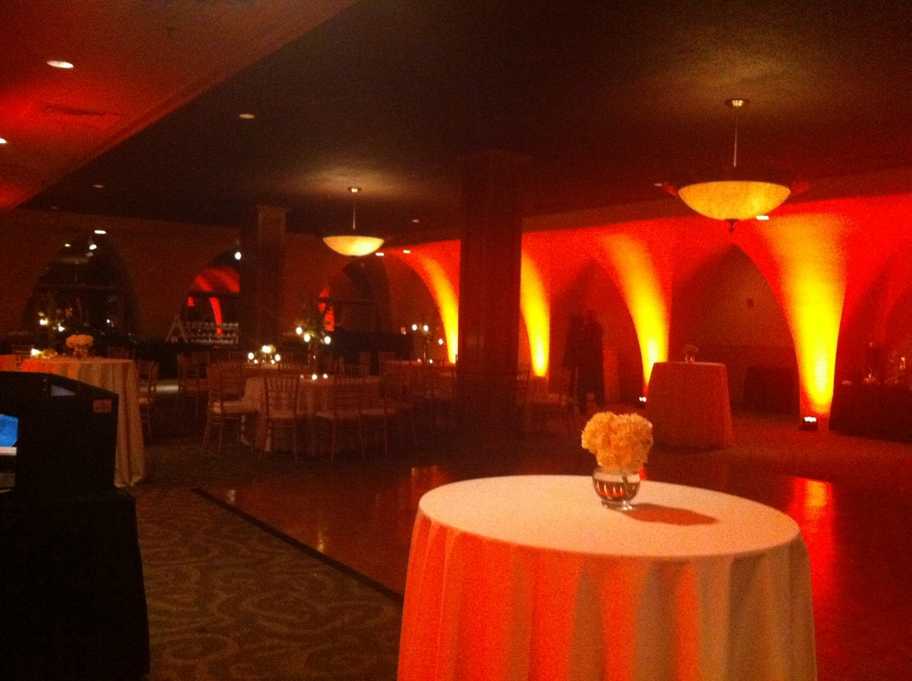 Before everyone arrived. Doesn't do the space any justice whatsoever.