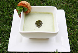 Cucumber Soup Photo : Jackie Cameron