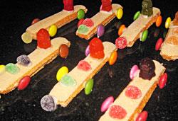 Boudoir Racing Cars Smartie Crammed Clown Men Jelly Filled Orange
