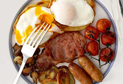 English Breakfast Photo: Jackie Cameron