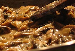 Mushroom and Pepper Sauce  Photo : Jackie Cameron