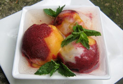 Trio of Sorbet Photo : Jackie Cameron