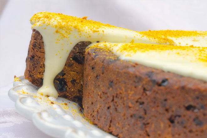 Traditional South African Christmas Cake Recipe