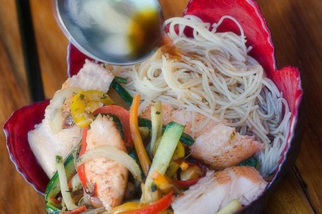 Trout Stir Fry Photo : Karen E Photography
