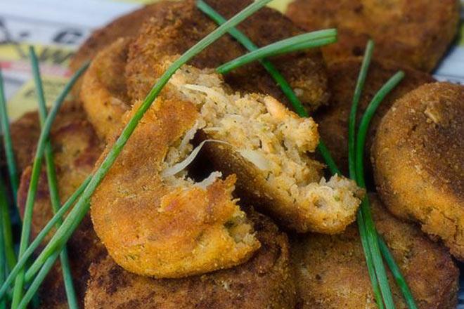 Trout Fishcakes Photo : Karen E Photography