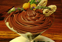 Chocolate Mousse Photo  : Jackie Cameron