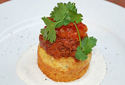 Spicy Lamb Bunny Chow Photo : Jackie Cameron
