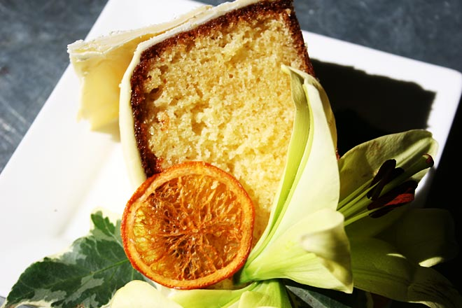 Orange Citrus Cake Photo : Jackie Cameron