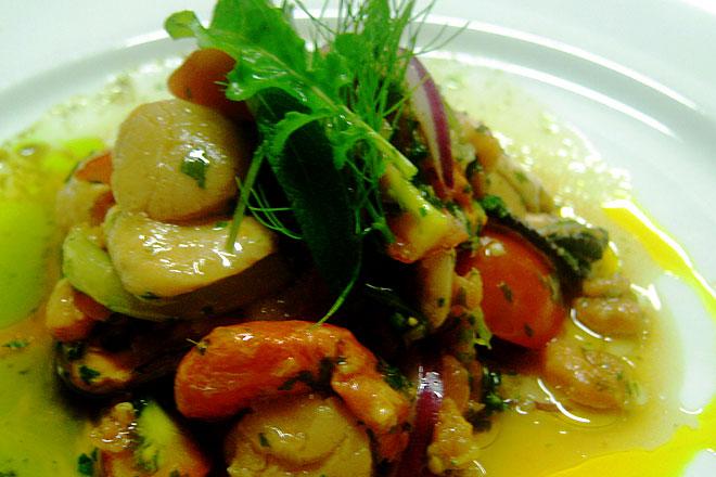 Seafood Ceviche Photo :Jackie Cameron