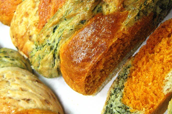 Vegetable Plait Bread Photo : Jackie Cameron