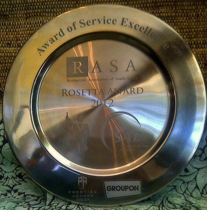 RASA Rosetta Award 2012 / Hartford House (p)