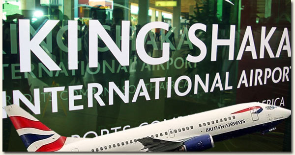 Comair - King Shaka International Airport / Tom Graham/Book Now (p)