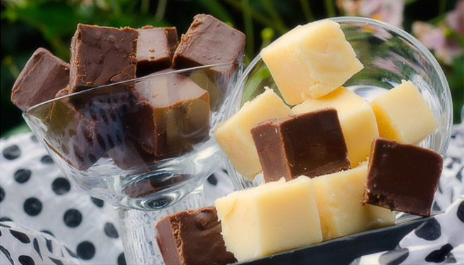 Jackie Cameron's Chocolate Fudge / Karen E. Photography (p)