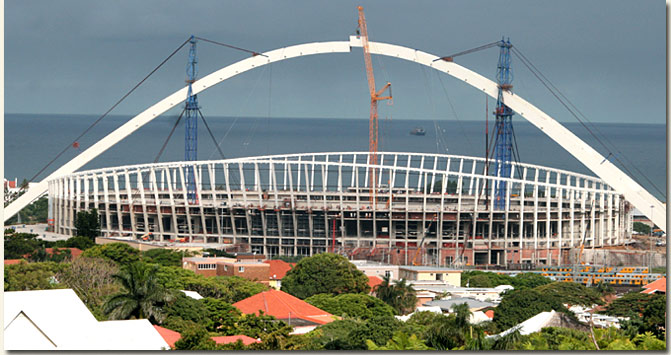 moses mabhida stadium, durban photo