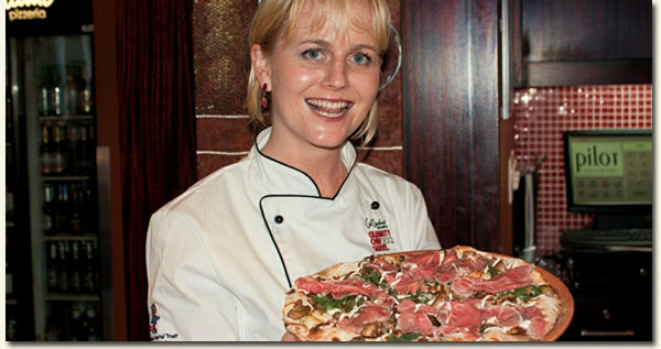 Jackie Cameron reveals her Carpe Funghi Signature Pizza / Durban News (p)