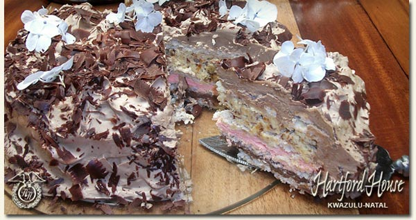 Meringue Black Forest Cake