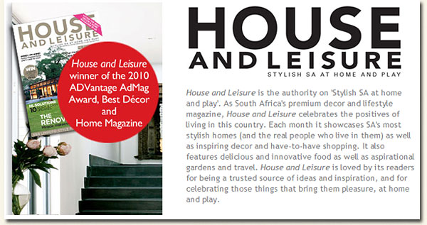 house and leisure magazine