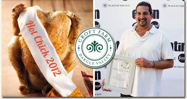 Croft Farm Chicken wins theOrganic / Free Range category