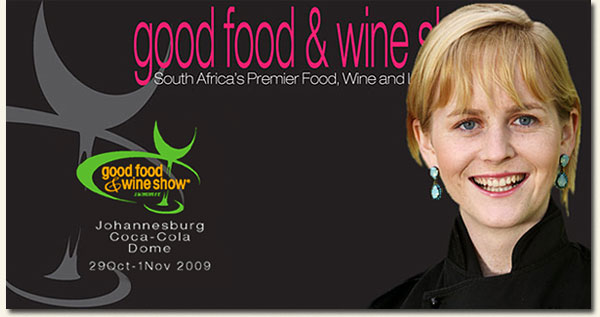 chef jackie cameron good food and wine show johannesburg south africa
