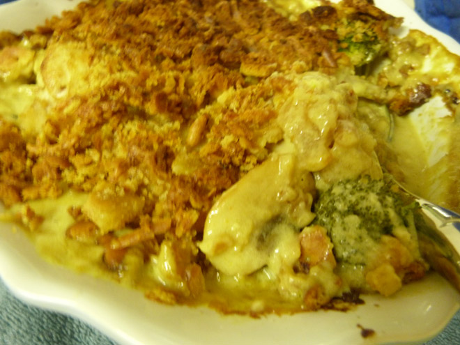 Chicken and Broccoli Bake Recipe Photo : Jackie Cameron