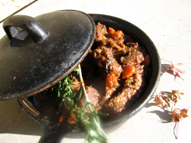 Venison Stew Photo : Jackie Cameron