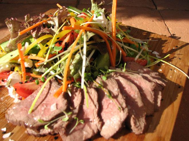 Court Bouillon for Ostrich Salad Photo : Jackie Cameron