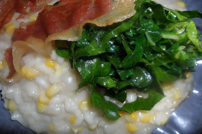 Corn and Coconut Risotto Photo : Jackie Cameron