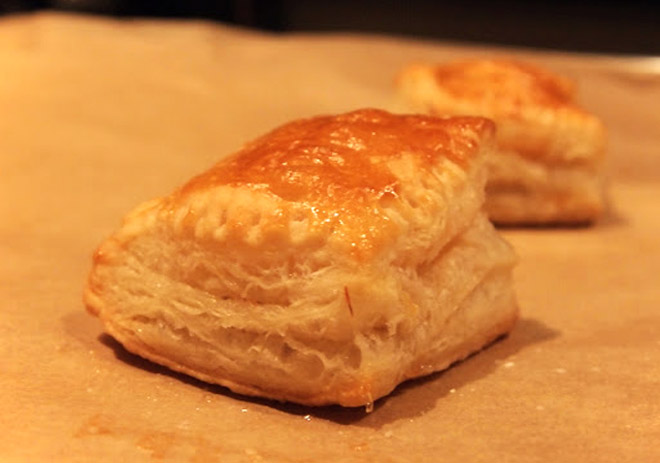 Homemade Puff Pastry Photo : Jackie Cameron