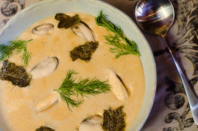 Mussel Soup Photo : Karen E Photography