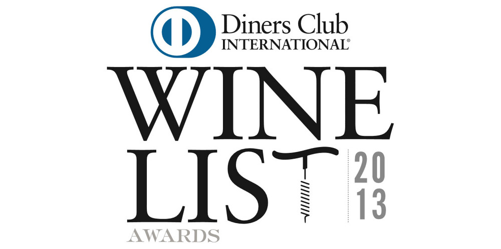 Diners Club Wine List Awards 2013