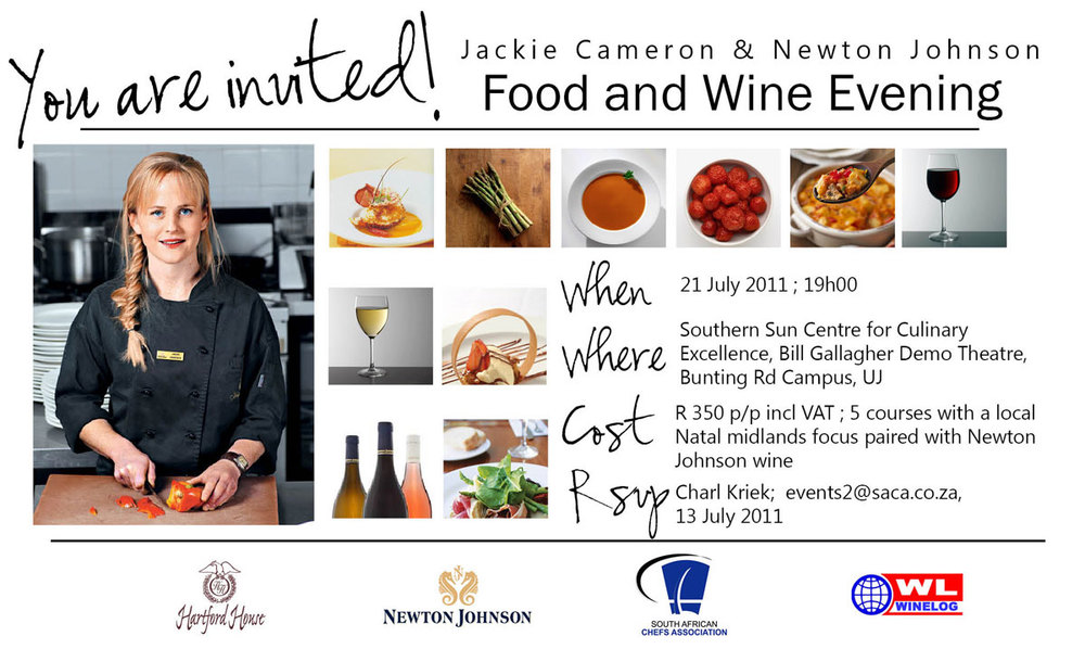 Jackie Cameron and Newton Johnson Wine