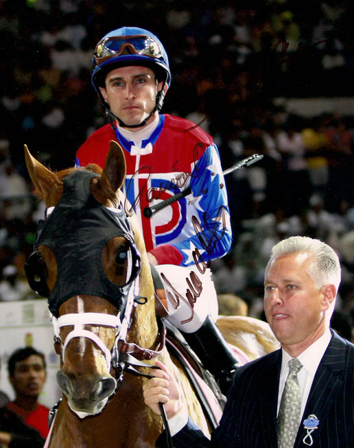 todd pletcher, ramon dominguez and a.p. arrow
