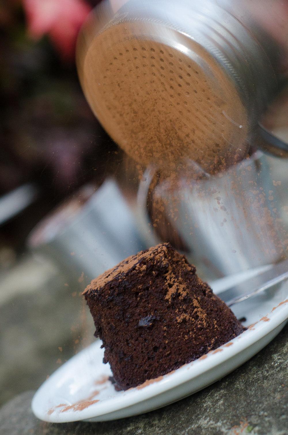 Chocolate Fondant / Karen E. Photography
