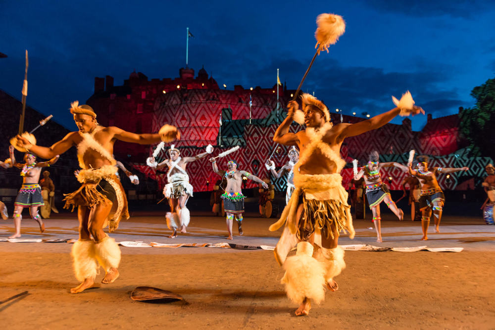 Zulu Dancers - Edinburgh Military Tattoo 1