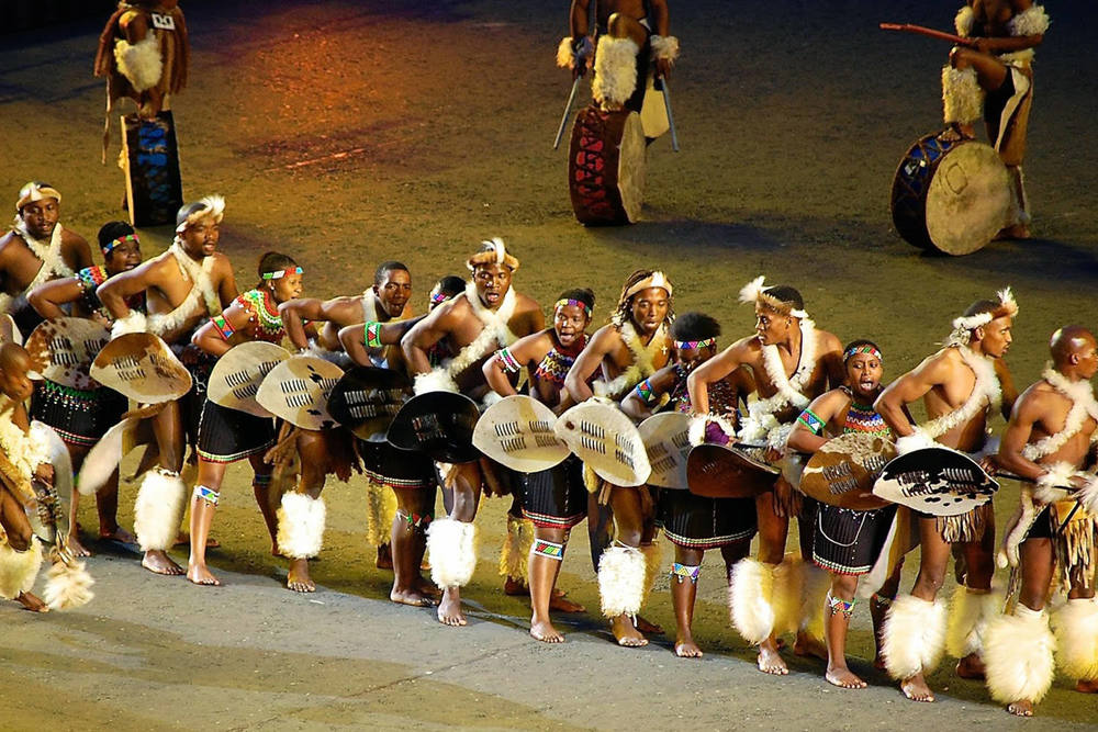 Zulu Dancers - Edinburgh Military Tattoo 2