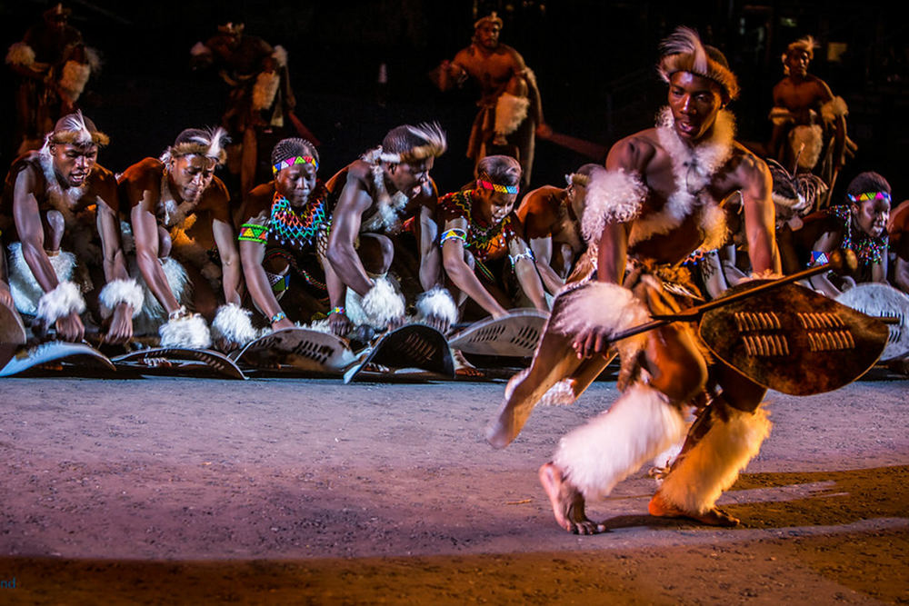 Zulu Dancers - Edinburgh Military Tattoo 4