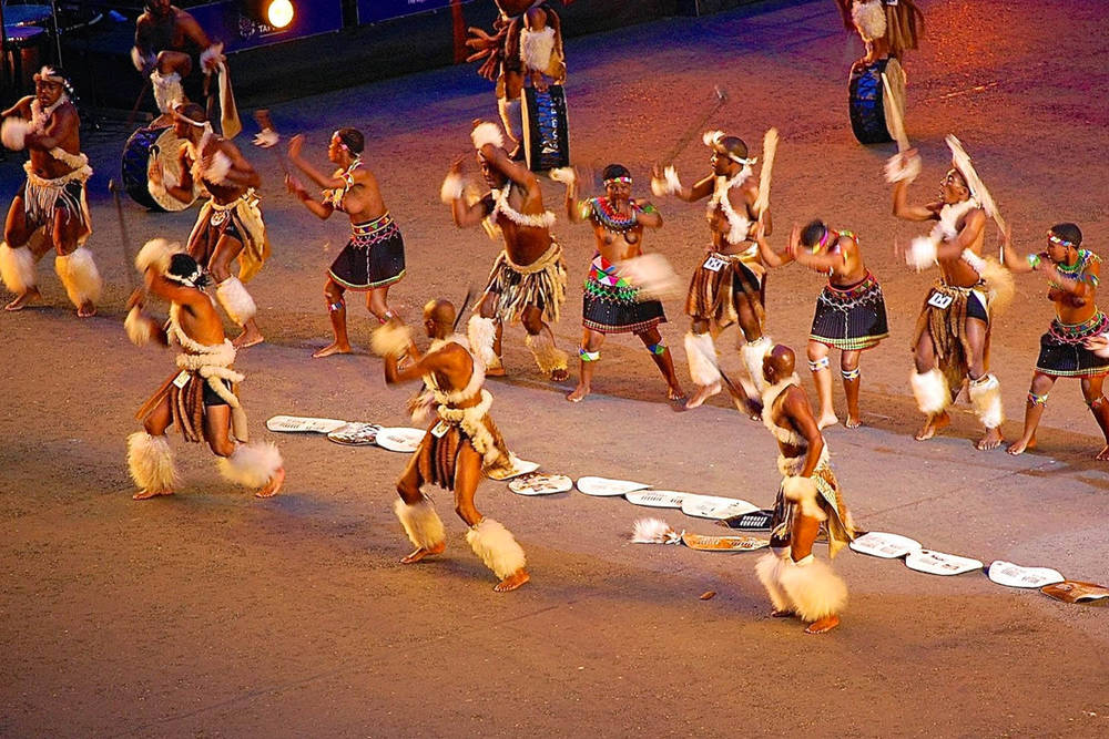 Zulu Dancers - Edinburgh Military Tattoo 6