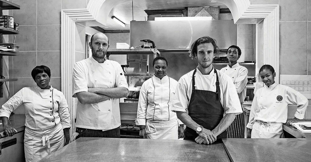 Chef Travis Finch and Hartford House Restaurant Team