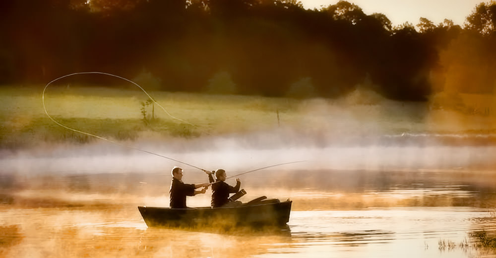 Justin Bonello & Scott Morgan Fly Fishing for Trout at Hartford House  / Cooked in Africa (p)