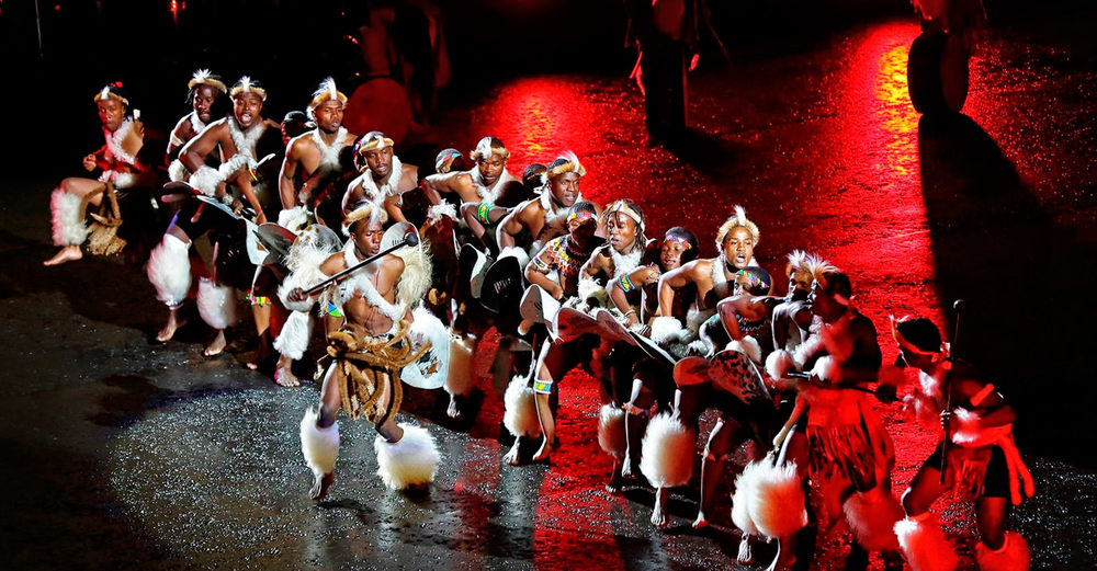 iNgobamakhosi Zulu Dance Troupe at the Royal Edinburgh Military Tattoo / Pavol Čepček