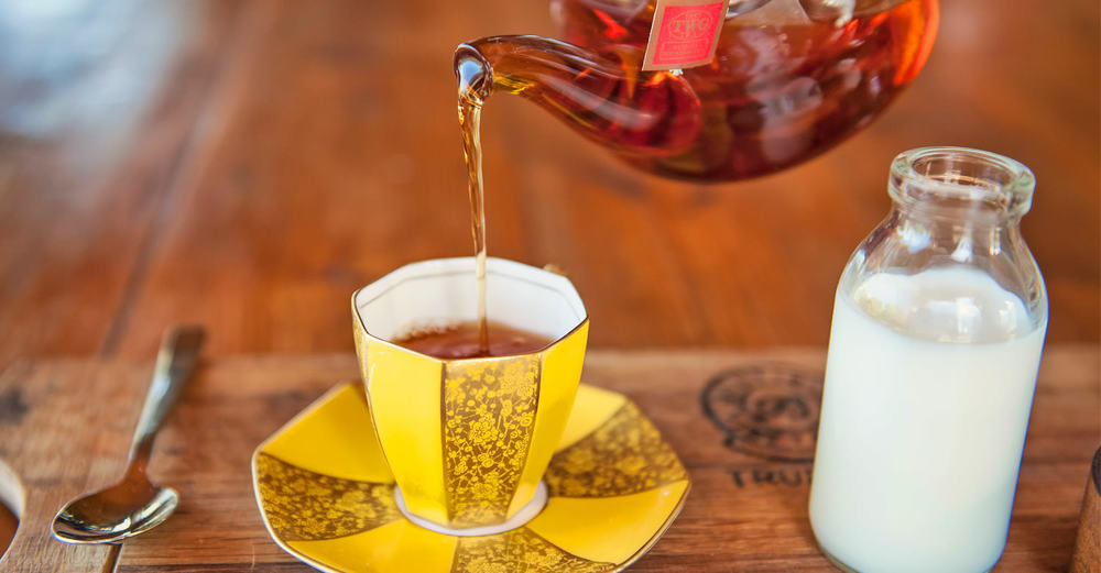TWG Vanilla Bourbon Tea at Hartford House / Adrian Shields (p)