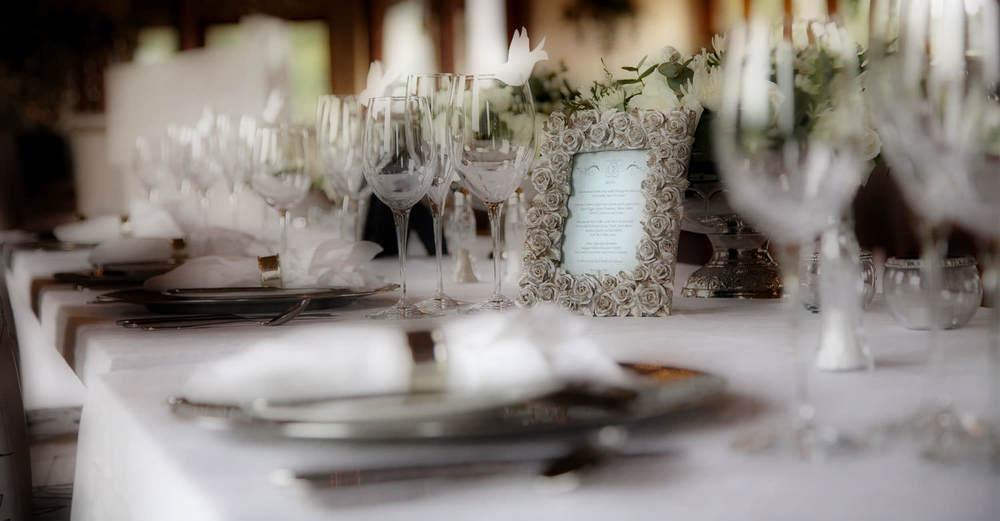 Hartford House Wedding Setting / David Rees (p)
